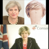 Theresa May Wig request for Spoof broadcast